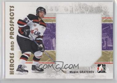 2007-08 In the Game Heroes and Prospects - [Base] #138 - Maxim Gratchev