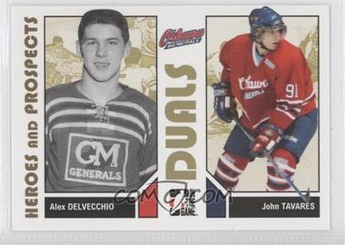 2007-08 In the Game Heroes and Prospects - [Base] #93 - Alex Delvecchio, John Tavares