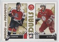 Joe Thornton Sault Ste Marie Greyhounds Ohl Hockey Cards