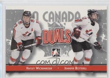2007-08 In the Game O Canada - [Base] #83 - Jennifer Botterill, Hayley Wickenheiser