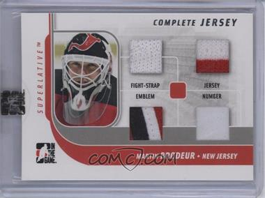 2007-08 In the Game Superlative - Complete Jersey - Silver #CJ-23 - Martin Brodeur /9
