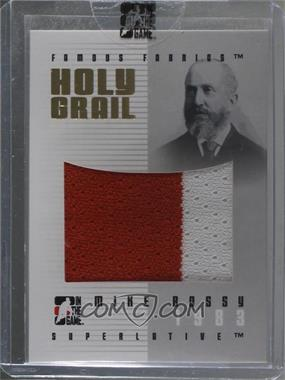 2007-08 In the Game Superlative - Famous Fabrics Holy Grail - Gold #HG-25 - Mike Bossy /1 [Uncirculated]