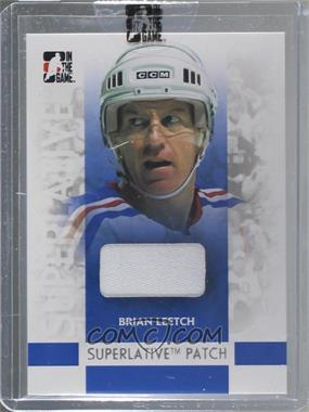 2007-08 In the Game Superlative - Patch - Silver #SP-09 - Brian Leetch /30 [Uncirculated]