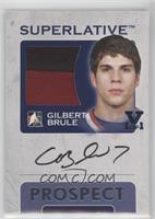 Gilbert Brule #/1