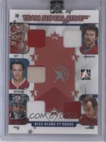 Patrick Roy, Larry Robinson, Jean Beliveau, Carey Price, Guy Lafleur #/9