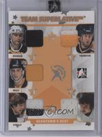Ray Bourque, Joe Thornton, Cam Neely, Terry O'Reilly, Brad Park /9