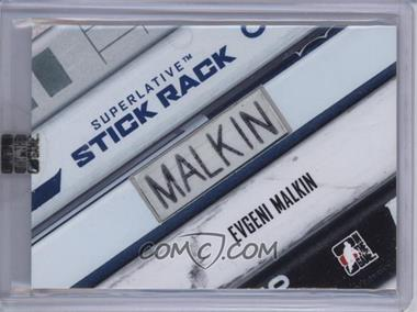 2007-08 In the Game Superlative - Stick Rack #SR-35 - Evgeni Malkin /1