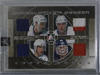 Bryan Trottier, Mike Bossy, Denis Potvin, Billy Smith [Uncirculated] #/9