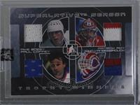 Mike Bossy, Patrick Roy, Paul Coffey, John Vanbiesbrouck [Uncirculated] #/9