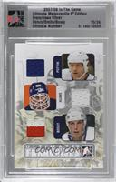 Denis Potvin, Billy Smith, Mike Bossy [Uncirculated] #/24
