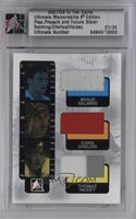 Borje Salming, Chris Chelios, Thomas Hickey [Uncirculated] #/24