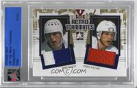 Mike Bossy, Denis Potvin [Uncirculated] #/1