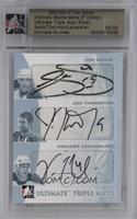 Joe Sakic, Joe Thornton, Vincent Lecavalier [Uncirculated] #/9