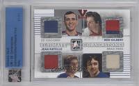 Ed Giacomin, Rod Gilbert, Jean Ratelle, Brad Park [Uncirculated] #/1