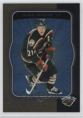 2007-08 O-Pee-Chee - [Base] - Micromotion #249 - Mark Parrish