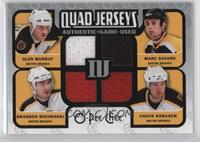 Marc Savard, Glen Murray, Brandon Bochenski, Chuck Kobasew