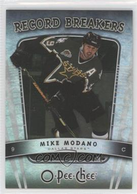2007-08 O-Pee-Chee - Record Breakers #RB1 - Mike Modano