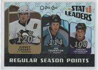 Sidney Crosby, Joe Thornton, Vincent Lecavalier