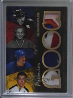 Gilbert Perreault, Guy Lafleur, Johnny Bucyk, Mike Bossy #/1
