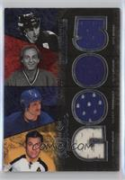 Guy Lafleur, Gilbert Perreault, Johnny Bucyk, Mike Bossy [Noted] #/25