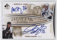 Simon Gagne, Martin St. Louis #/100