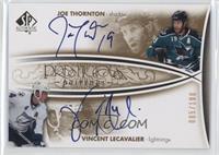 Joe Thornton, Vincent Lecavalier #/100
