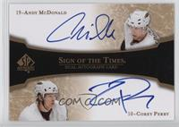 Andy McDonald, Corey Perry