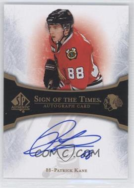 2007-08 SP Authentic - Sign of the Times #ST-PK - Patrick Kane