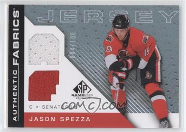 2007-08 SP Game Used Edition - Authentic Fabrics - Rainbow #AF-SP - Jason Spezza /100