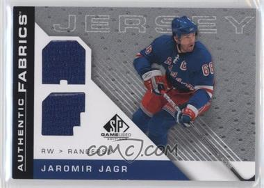 2007-08 SP Game Used Edition - Authentic Fabrics #AF-JJ - Jaromir Jagr