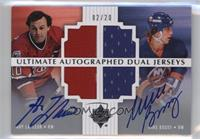 Guy Lafleur, Mike Bossy #/20
