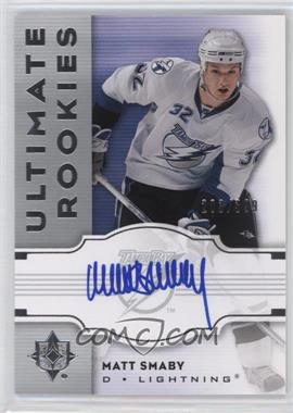 2007-08 Ultimate Collection - [Base] #135 - Matt Smaby /399