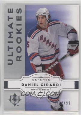 2007-08 Ultimate Collection - [Base] #71 - Dan Girardi /499