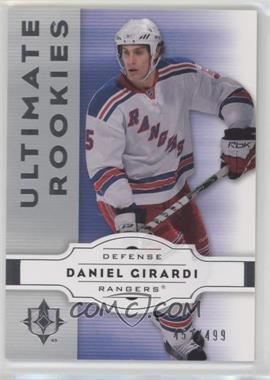 2007-08 Ultimate Collection - [Base] #71 - Dan Girardi /499