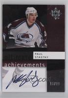 Paul Stastny [Noted] #/20