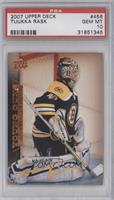 Young Guns - Tuukka Rask [PSA 10 GEM MT]