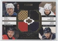 Paul Kariya, Alex Tanguay, Dany Heatley, Rick Nash #/100