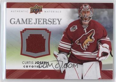 2007-08 Upper Deck - Game Jersey Series 2 #GJ2-CJ - Curtis Joseph