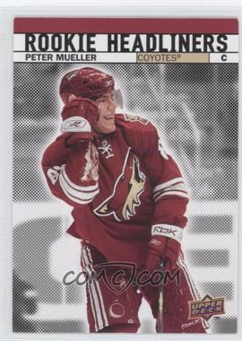 2007-08 Upper Deck - Rookie Headliners #RH8 - Peter Mueller