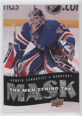 2007-08 Upper Deck - The Men Behind the Mask #BM4 - Henrik Lundqvist
