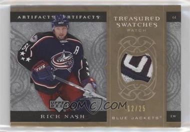 2007-08 Upper Deck Artifacts - Treasured Swatches Patch - Gold #TS-RN - Rick Nash /25