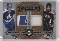Borje Salming, Peter Forsberg [Noted] #/35
