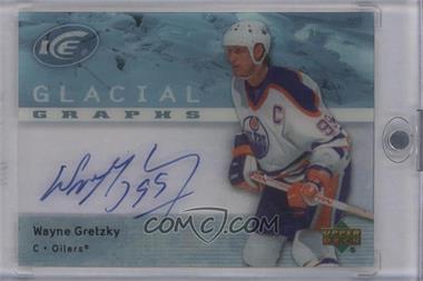 2007-08 Upper Deck Ice - Glacial Graphs #GG-WG - Wayne Gretzky