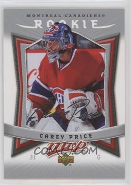 2007-08 Upper Deck MVP - [Base] #352 - Carey Price