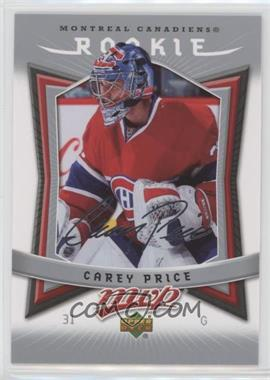 2007-08 Upper Deck MVP - [Base] #352 - Carey Price