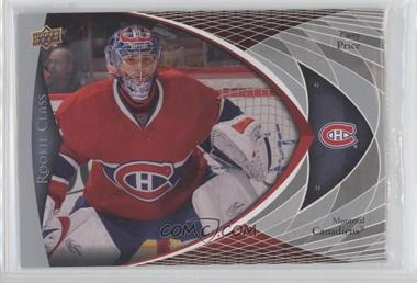 2007-08 Upper Deck Rookie Class - Box Set [Base] - Jumbo #CC-3 - Carey Price