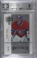 Carey Price [BGS 9 MINT] #/25