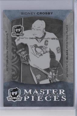 2007-08 Upper Deck The Cup - [Base] - Printing Plate Black #K-21 - Sidney Crosby /1