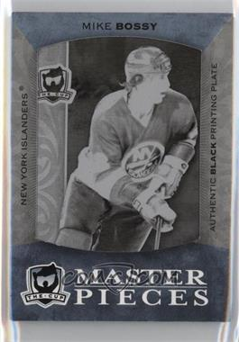 2007-08 Upper Deck The Cup - [Base] - Printing Plate Black #K-39 - Mike Bossy /1
