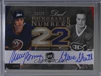 Mike Bossy, Steve Shutt #/22